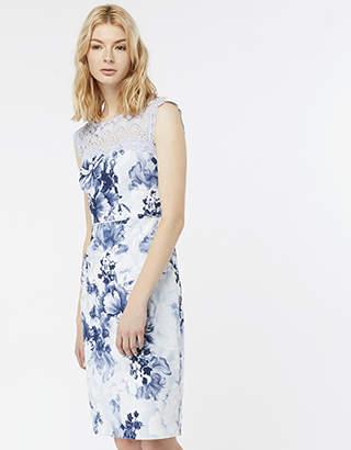 Monsoon Samantha Print Dress