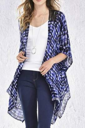 Paige Charlie Tie Dye Kimono