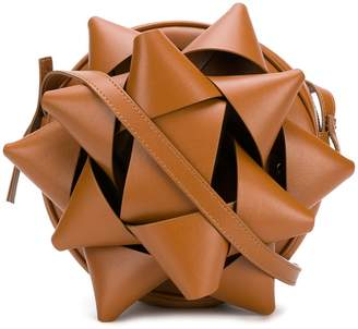 MM6 MAISON MARGIELA gift bow shoulder bag