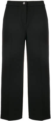 Blugirl cropped wide-legged trousers