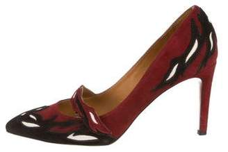 Isabel Marant Pointed-Toe Suede Pumps