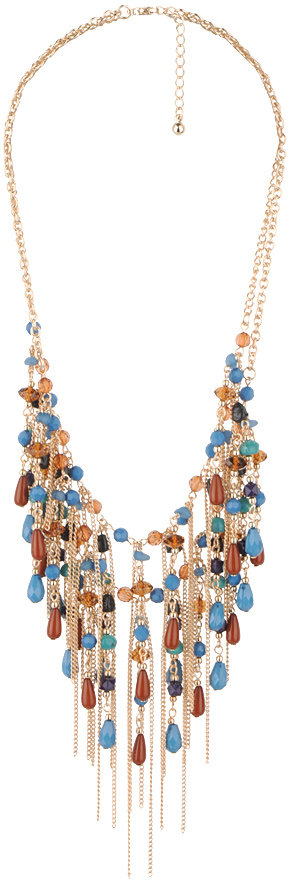 Forever 21 Two Tiered Bead Necklace