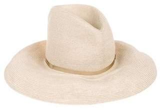 CA4LA Woven Wide Brim Hat w/ Tags