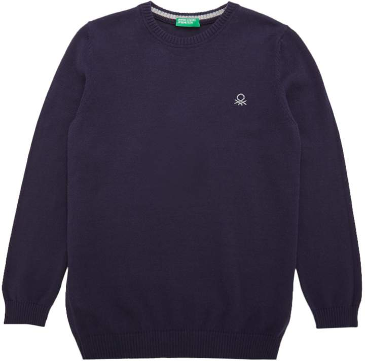 Boys Crew Neck Knitted Jumper
