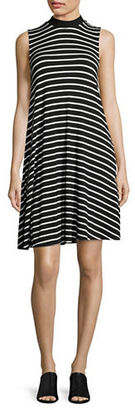 Lord & Taylor Clover Striped Swing Dress $68 thestylecure.com