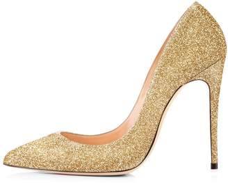 5de9a54b2af High Heel Shoes With Gold Toe - ShopStyle Canada