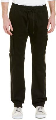 Vince Black Wash Skinny Cargo Pant