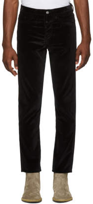 Enfants Riches Deprimes Black Cord Trousers