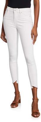 Velvet Heart Mid-Rise Skinny-Fit Ankle Jeans