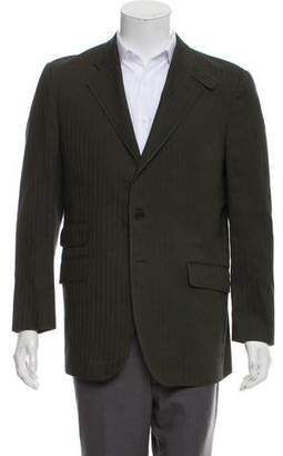 Etro Herringbone Woven Jacket