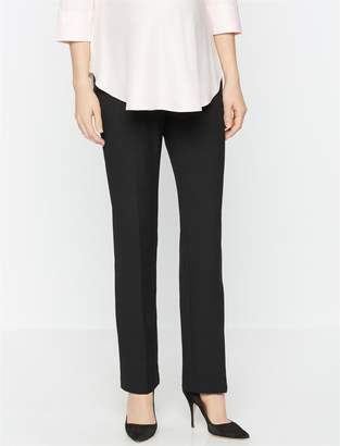 A Pea in the Pod Secret Fit Belly Straight Leg Maternity Suiting Pants