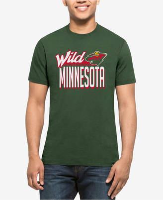 '47 Men's Minnesota Wild Script Splitter T-Shirt