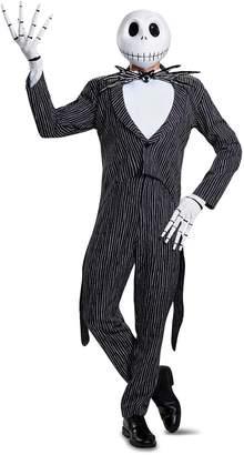 Disney Men's Plus Size Jack Skellington Prestige Adult Costume
