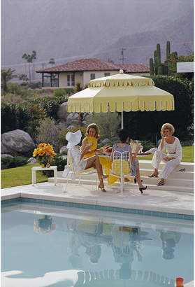 "Jonathan Adler Slim Aarons ""Nelda And Friends"" Photograph"