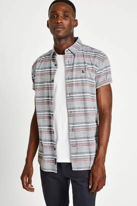 Jack Wills Northwood Slub Cotton Stripe Shirt