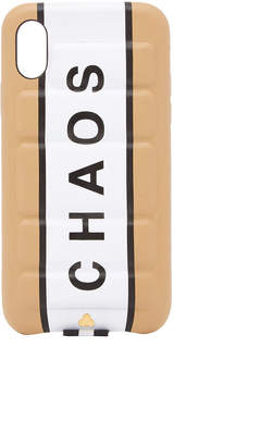 Chaos M'O Exclusive Leather Padded iPhone X Case