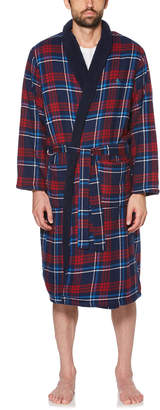 Original Penguin CLINTON PLAID FLEECE ROBE