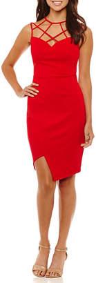 REBECCA B Rebecca B Strappy Sleeveless Slip Dress