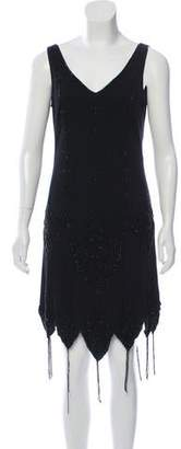 Basix II Beaded Sleeveless Dress