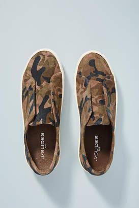 J/Slides Classic Camo Platform Sneakers