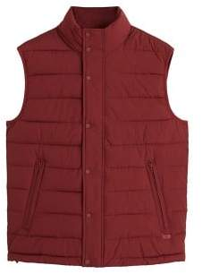 Ultra-light quilted gilet