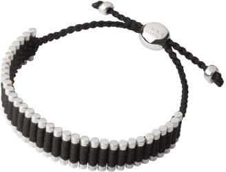 Links of London Black Cord Friendship Bracelet