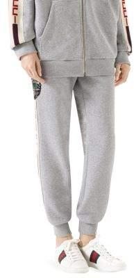 Gucci Sequin Cat Sweatpants