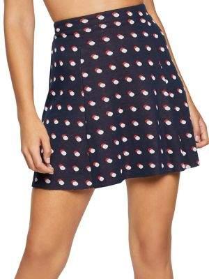 BCBGeneration Double Dot Mini Skirt