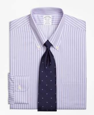 Brooks Brothers Regent Fitted Dress Shirt, Non-Iron Triple Stripe