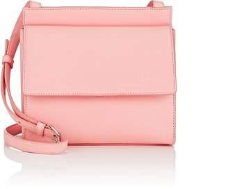 Calvin Klein Women's Foldover Leather Crossbody Bag