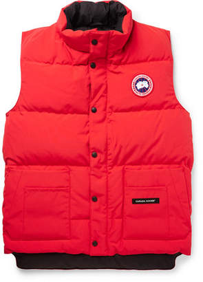 Canada Goose Freestyle Quilted Shell Down Gilet - Men - Red