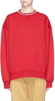 Acne Studios 'Yana' logo intarsia sweatshirt