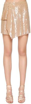 Alberta Ferretti Sequined Mini Skirt