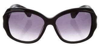 Alexander McQueen Gradient Oversize Sunglasses