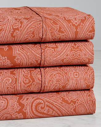 Superior 600 Tc Cotton Blend Italian Paisley Sheet Set