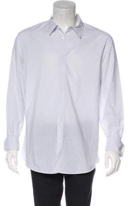John Varvatos Striped French Cuff Shirt
