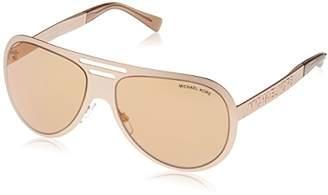 Michael Kors Women's Clementine I 1064R1 59 Sunglasses, Satin Rose Gold Flash