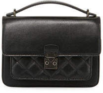 Jagger Kc Reese Diamond Quilt Leather Top-Handle Lady Bag