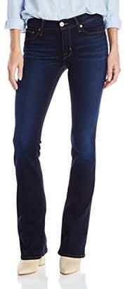 Hudson Women's Petite Size Love Midrise Bootcut 5 Pocket Jeans