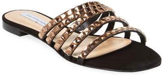 Saks Fifth Avenue Embellished Slide Sandal