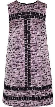 Mikael Aghal Jacquard Mini Dress
