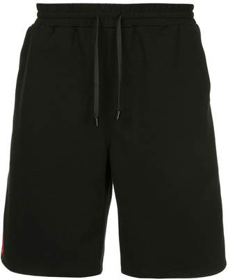 The Upside side panel track shorts