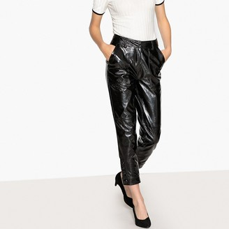 Faux Leather Trousers Shopstyle Uk