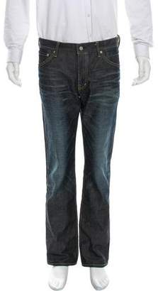 Visvim Distressed Relaxed-Fit Jeans