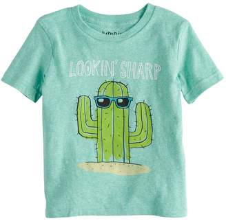 "Toddler Boy Jumping Beans Cactus ""Looking Sharp"" Graphic Tee"