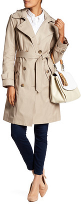 London Fog Double-Breasted Trench Coat $200 thestylecure.com