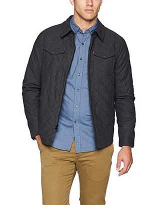 Levi's Men's Diamond Quilted Shirt Jacket