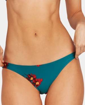 Volcom Juniors' Good to Grow Printed Hipster Bikini Bottoms Women's Swimsuit