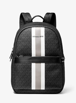 Michael Kors Greyson Logo Stripe Backpack