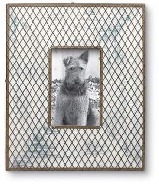 Foreside Home & Garden Woven Lattice Picture Frame
